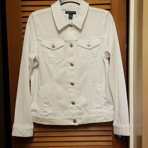 NWT Bandolino jacket in white size small